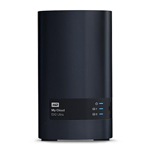 WD My Cloud EX2 Ultra NAS Festplatte 8 TB (zentraler Netzwerkspeicher, einfache Installation, zwei...