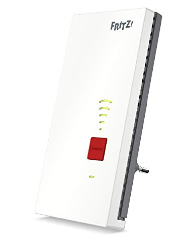 AVM FRITZ!WLAN Mesh Repeater 2400 (Dual-WLAN AC + N bis zu 1.733 MBit/s (5GHz) + 600 MBit/s(2,4...