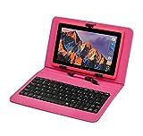 Tablet PC Touchscreen 7 Zoll,Tablet Computer Mit Tastatur Android Quad-core Laptop ,WiFi,Dual-Kamera,Bluetooth,8 GB ROM,1 GB RAM,Mit Touch Stift