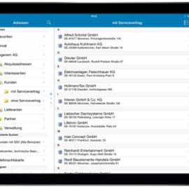 AMTANGEE Mobile: CRM-App für iOS & Android