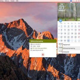 miCal für den Mac ist da – Das coole Kalender-Helferlein für die Menüleiste!