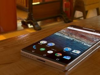 Smartphone mit Android Betriebssystem