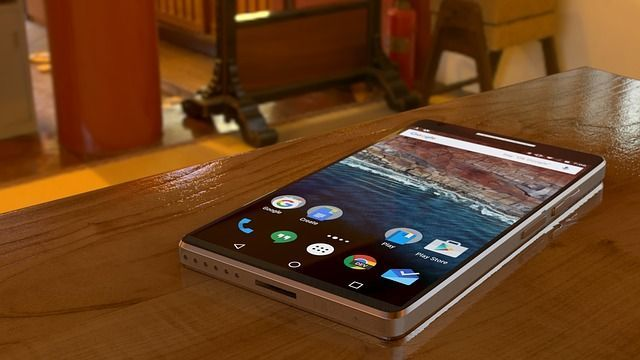 Smartphone mit Android Betriebssystem