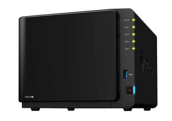 Synology DS916+ (8GB)/8TB-RED (4X 2TB WD) 4 Bay NAS-Systeme mit 8GB RAM