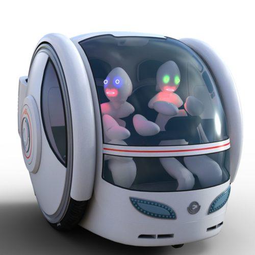 Roboter Fahrzeug Zukunftsaussichten