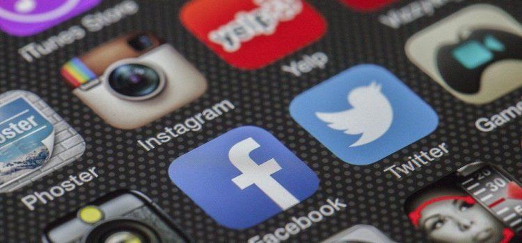 Social Media Apps auf dem Smartphone