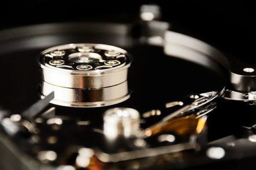 Festplatte für den NAS Server