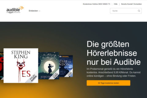 Audible: Hörbücher, Hörspiele & Podcast